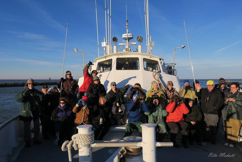 Lewes/Delaware Bay Boat Trip, 2016 Winter DBW