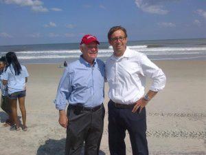 Senator Cardin and Dave Wilson